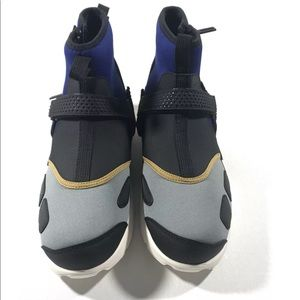 a1a9c20e10f Nike Shoes - Nike Air Jordan Trunner LX High NRG Black Blue Gld
